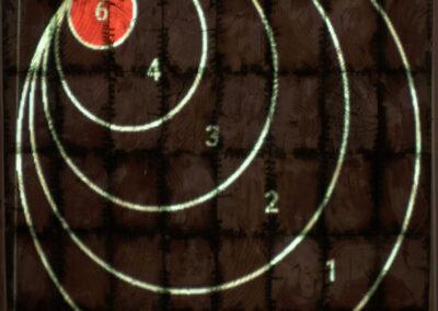 Moving Axe Throwing Target